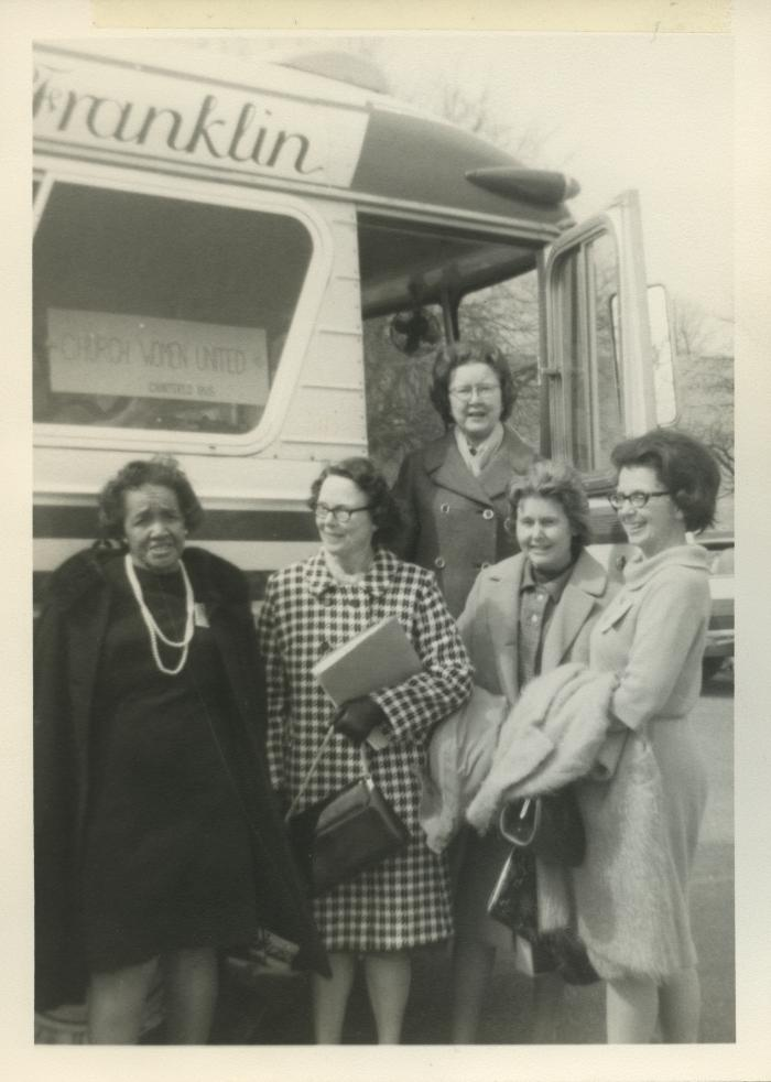 Church Women United, Arlington, Members Before Bus Trip, 1966