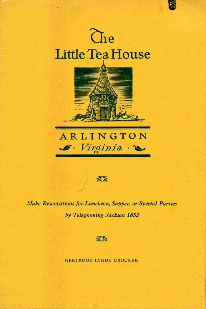 The Little Tea House Menu