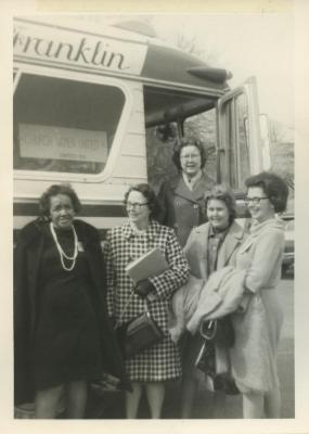 Church Women United, Arlington, Members Before Bus Trip, 1966