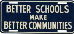 Better Schools License Plate