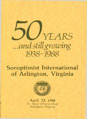 """50 Years…and still growing 1938-1988"""