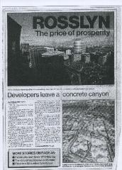 Rosslyn: The Price of Property