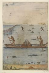 """Their Manner of Fishing in Virginia"" by John White"
